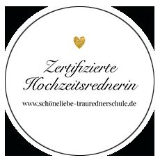 Zertifikat zur Traurednerin